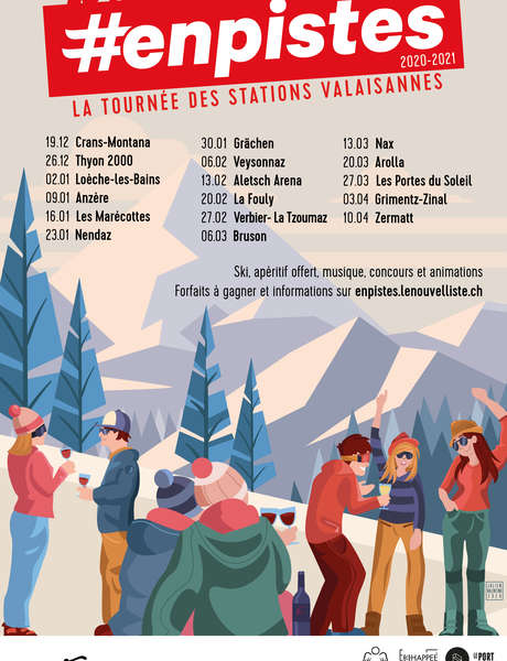 Die Tournee #enpistes