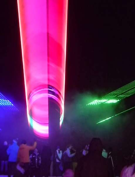 Show Laser - Batucadas - concerts