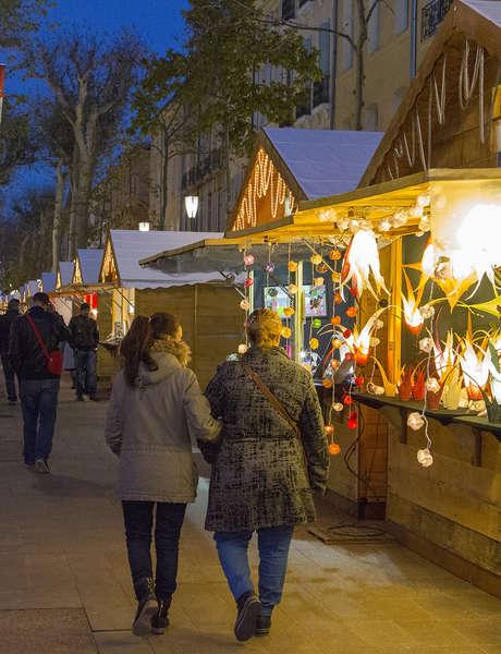 Les manifestations de Noël à Aix-en-Provence