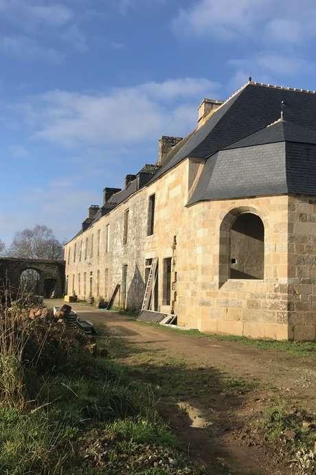 Le manoir de Saint-Quijeau à Lanvénégen