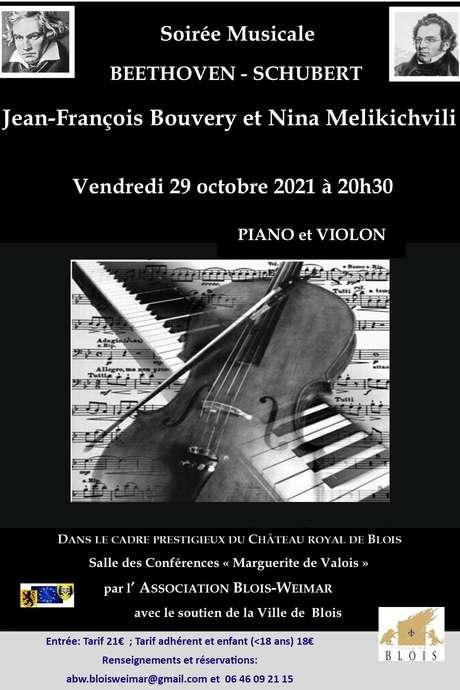 Soirée musicale Beethoven-Schubert