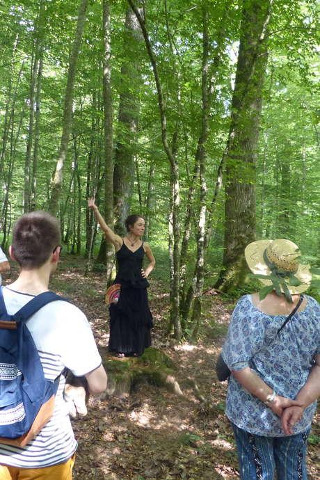 Balade nature contée: la forêt des mystères par Yara Lune et le Guide du Parc