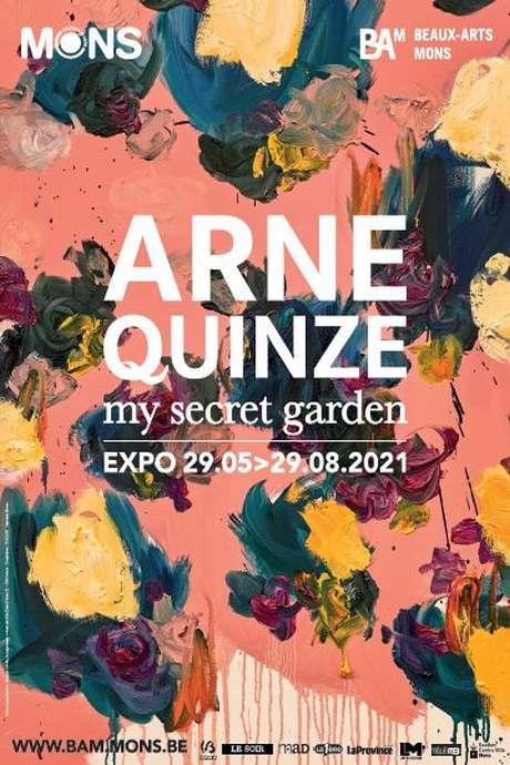 Arne Quinze - My secret garden / Visites guidées pour individuels