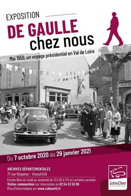 """Exposition : """"De Gaulle chez nous. Mai 1959 : un voyage présidentiel en Val de Loire"""""""