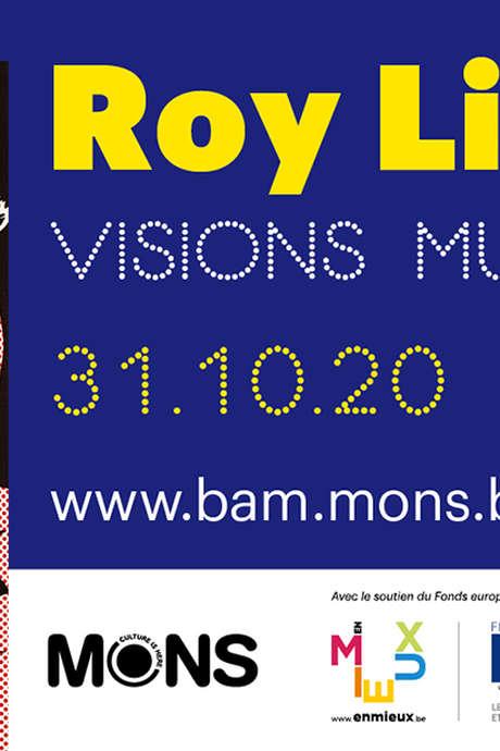 """Roy Lichtenstein """"Visions multiples"""" - Conférence de Jean-Philippe Theyskens : « Lignes, points, cases, l'art de Roy Lichtenstein ; de bas en haut, high and low ! »."""