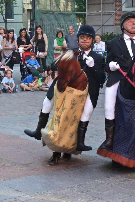 Théâtre déambulatoire : The Horsemen