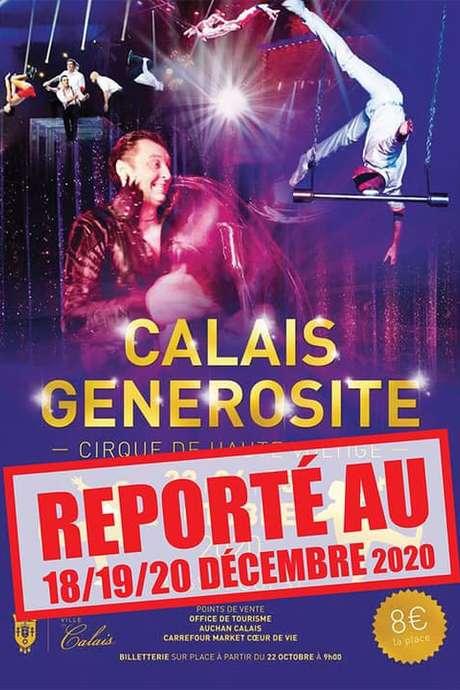 Cirque Calais générosité