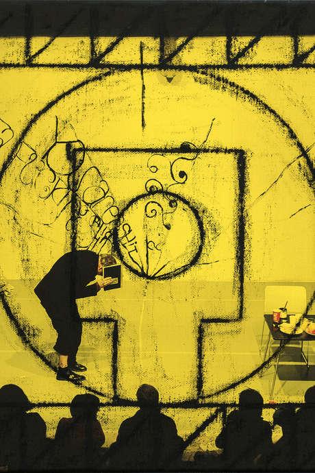 "Tentoonstelling ""Representing the Work"" van Matt Mullican"