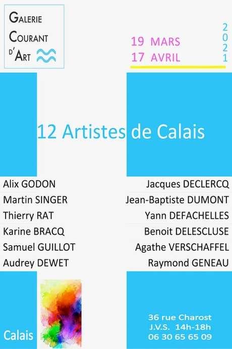 """Exposition """"12 artistes de Calais"""""""