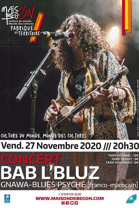 Concert : BAB L'BLUZ [Gnawa-Blues Psyché]