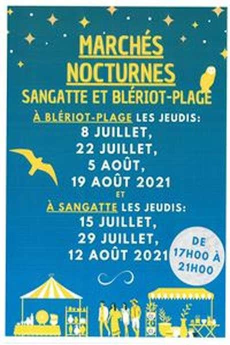 Marché nocturne à Sangatte et Blériot-Plage