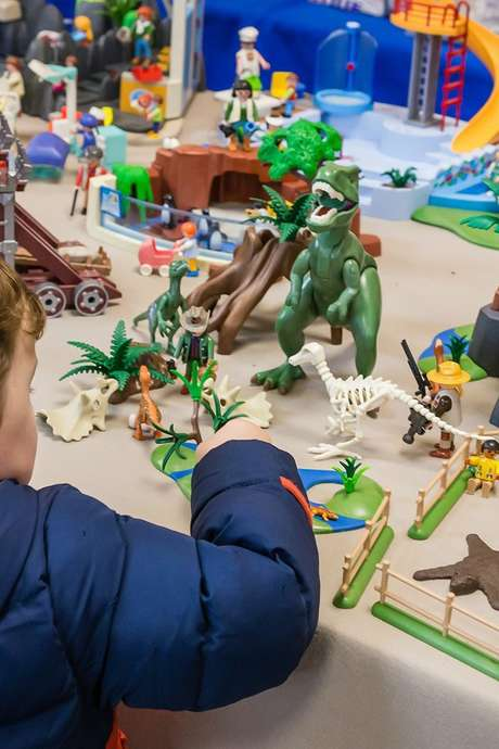 Playmobil, l'expo record