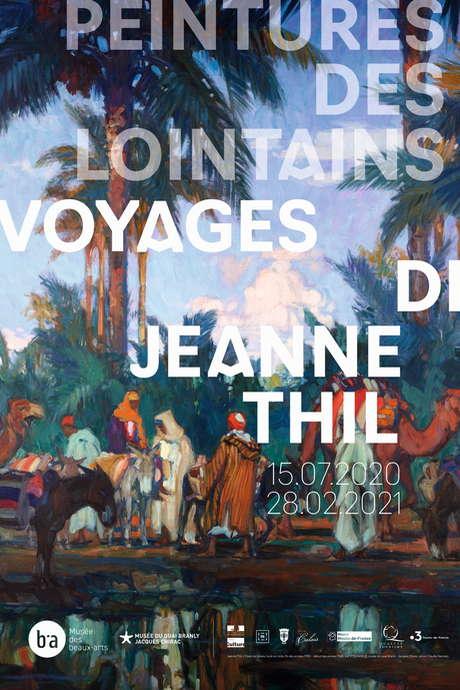 Exposition « Peintures des lointains. Voyages de Jeanne Thil »