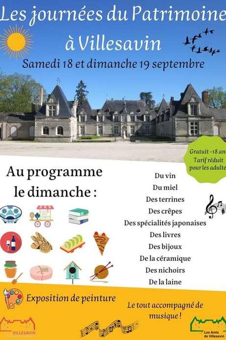 Journées du patrimoine à Villesavin