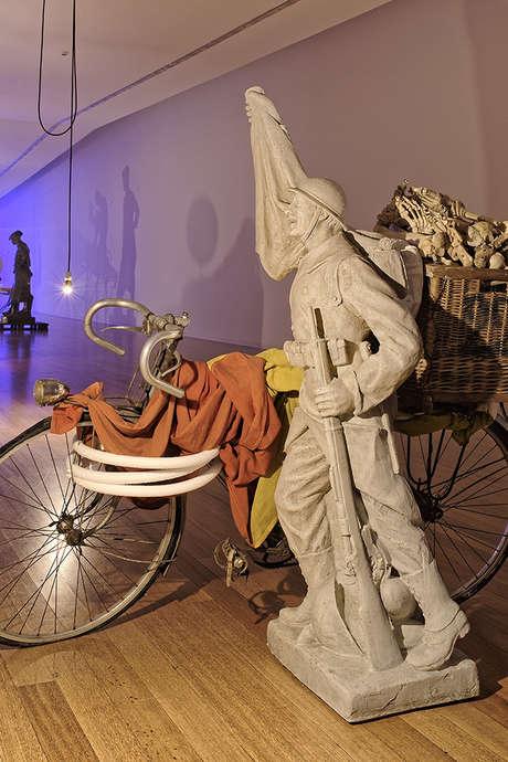 """Visite guidée par Denis Gielen - Expo """"No Room for Regrets"""""""
