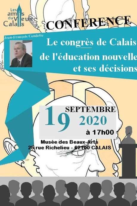 Conférence : Le congrès de Calais de l'éducation nouvelle et ses décisions (1921)