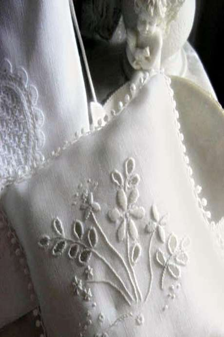 Atelier dentelle main : Initiation, évolution et broderie blanche / broderie anglaise