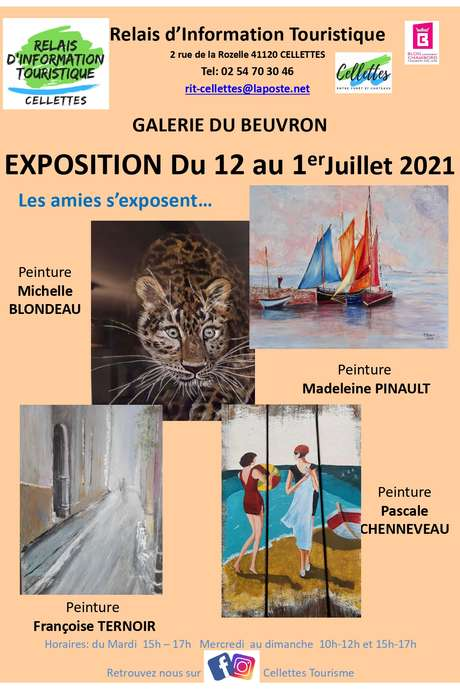 """Exposition """"Les Amies s'exposent..."""""""