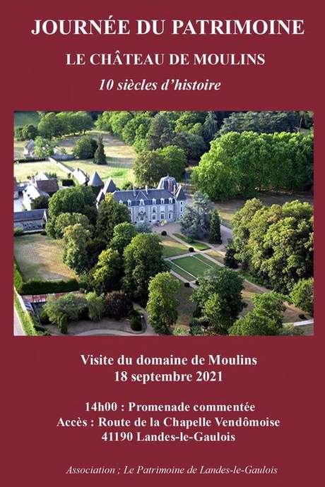Journée du patrimoine au château de Moulins