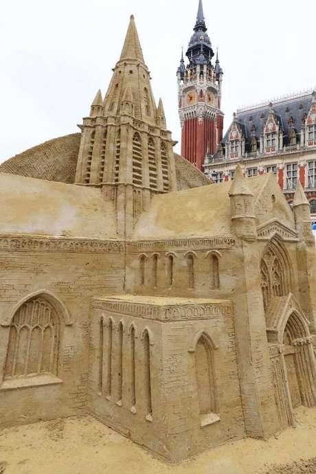 Sculpture de sable