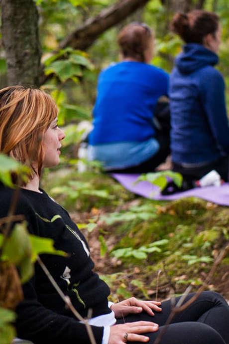 Balade méditative avec Sabrina