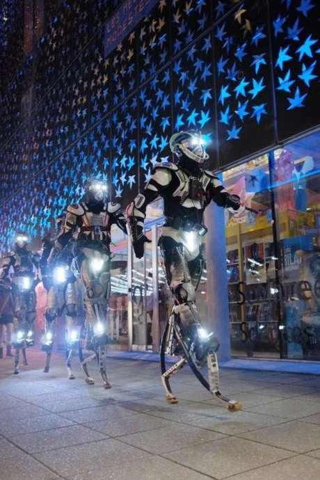 Calais illumine l'hiver : Robot du futur