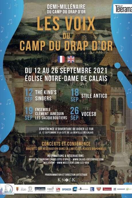Concert : Les voix du camp du Drap d'Or