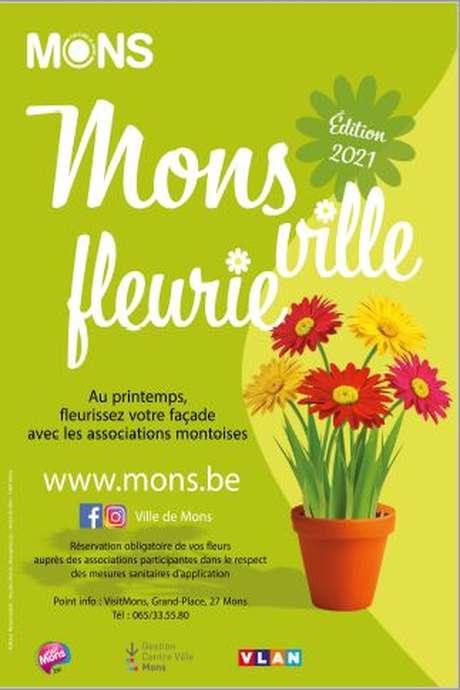 Opération Mons ville fleurie 2021