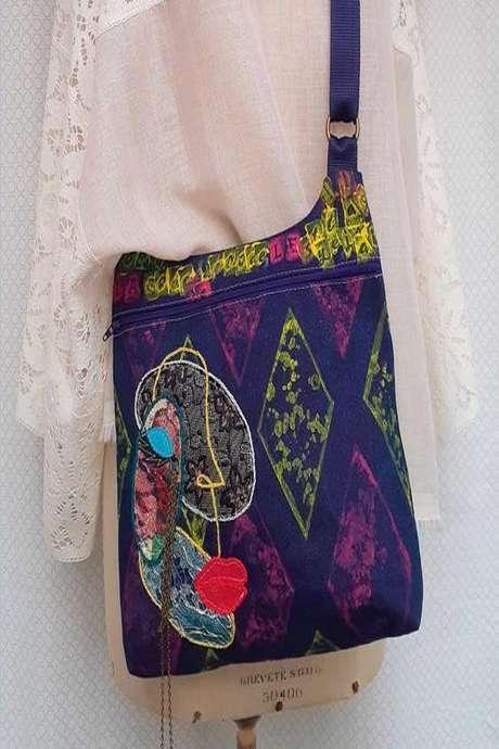 Création textile : atelier sac bandoulière