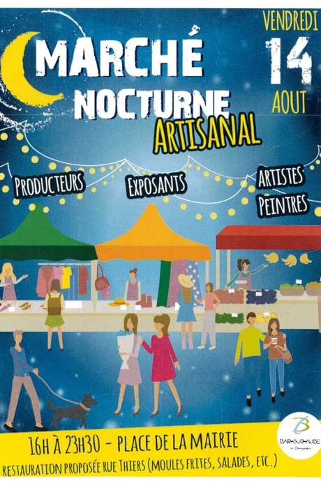 Marché nocturne artisanal
