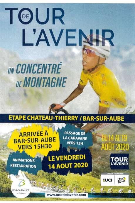 Le Tour de l'Avenir fait étape à Bar-sur-Aube
