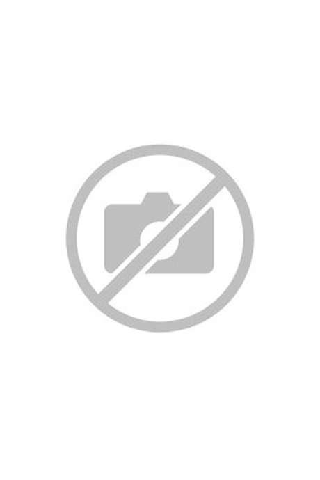 Gérard Morel et la guitare qui l'accompagne