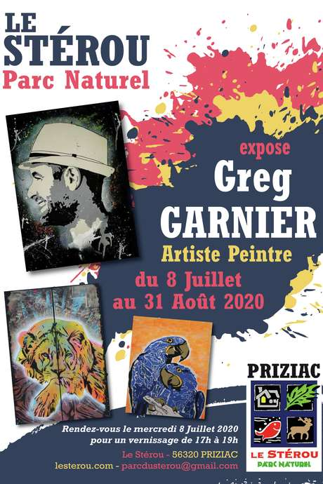 Expo de Greg Garnier au Stérou