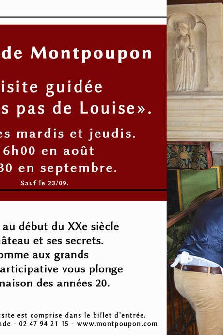 Visite sur les pas de Louise au Château de Montpoupon