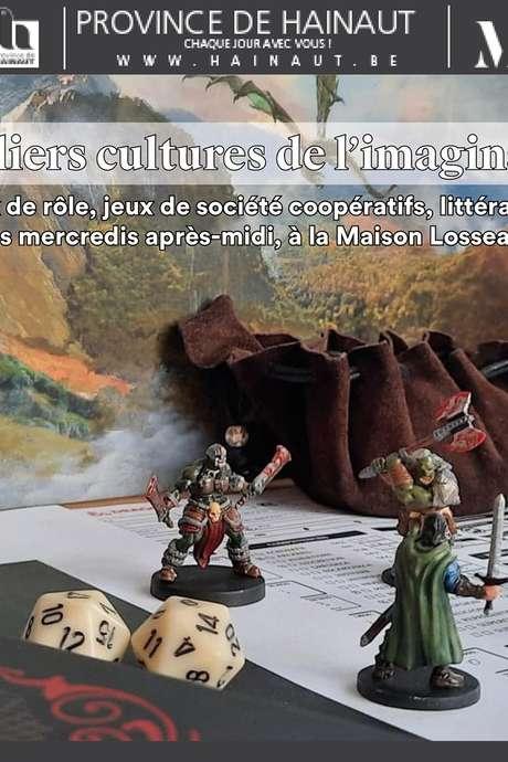 Ateliers - Culture de l'imaginaire