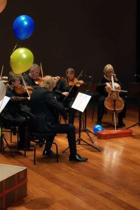 Orcw for kids /Un clown au pays de la musique classique