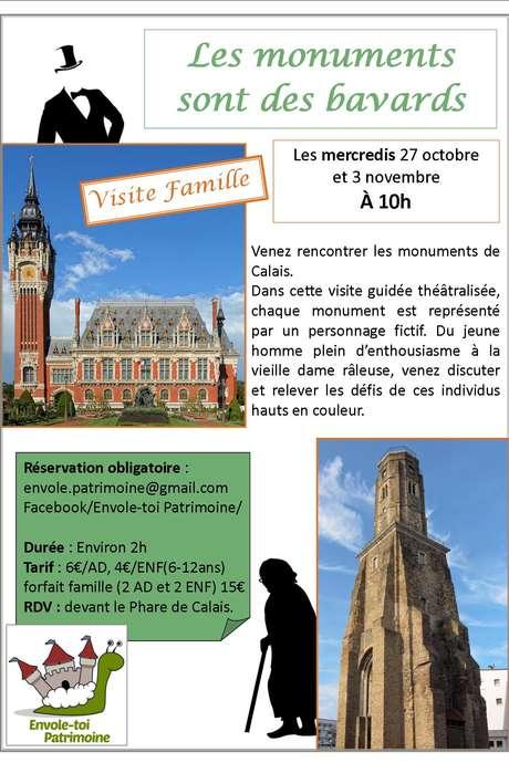 Visite famille : Les monuments sont des bavards