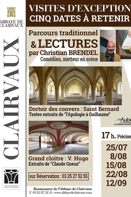 Visite théâtralisée de l'Abbaye de Clairvaux