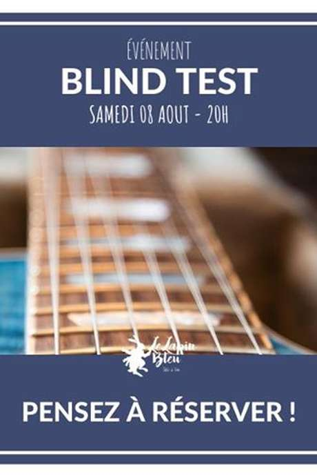 Blind Test avec Phil Saxis