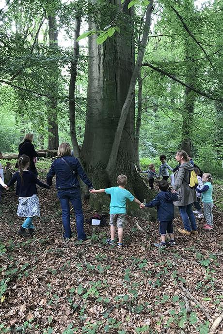 Les Petits Robinsons dans le bois de Roquelaure
