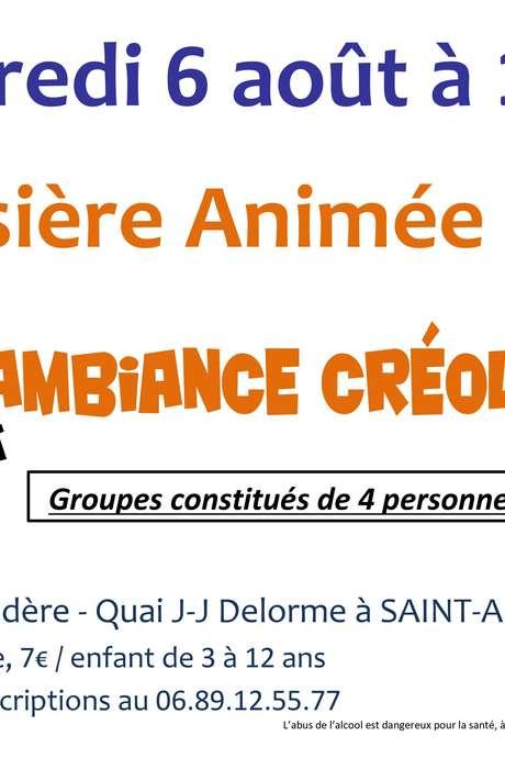 """Croisière animée """"Ambiance créole"""""""