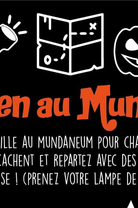 Halloween au Mundaneum !
