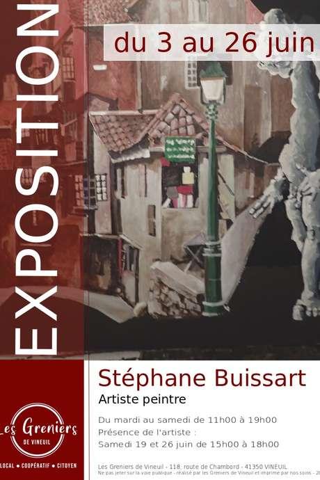 Exposition de Stéphane Buissart