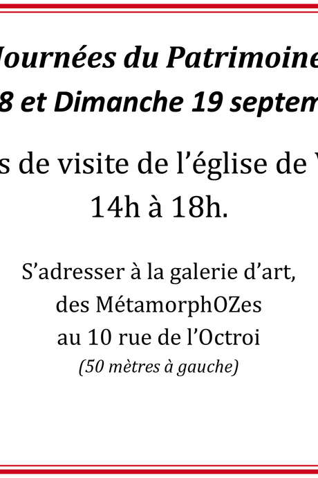 Journées du Patrimoine à Valaire
