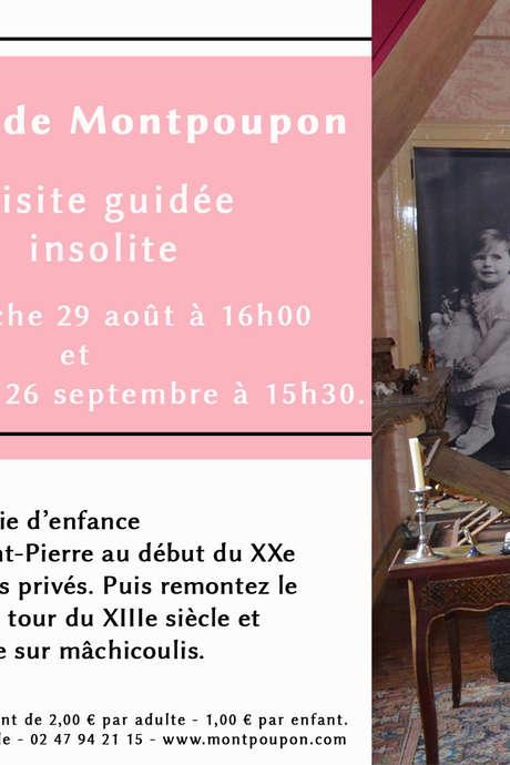 Visite insolite au château de Montpoupon