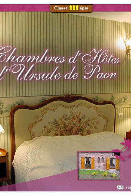 Chambres d'hôtes d'Ursule de Paon