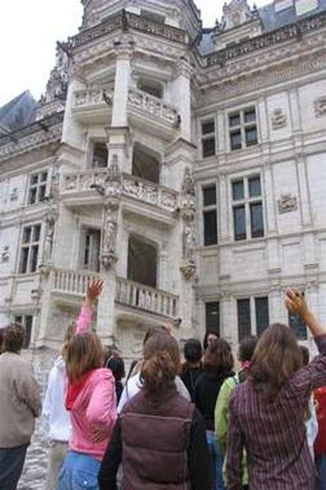 """Visite familiale : """"A toi la vie de Château"""""""
