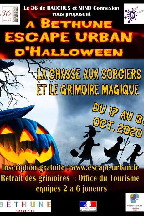 Escape-urban d'Halloween