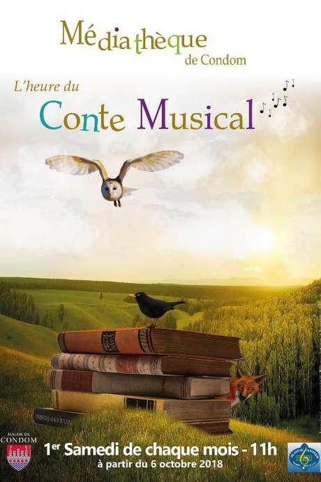 CONTE MUSICAL A LA MÉDIATHÈQUE