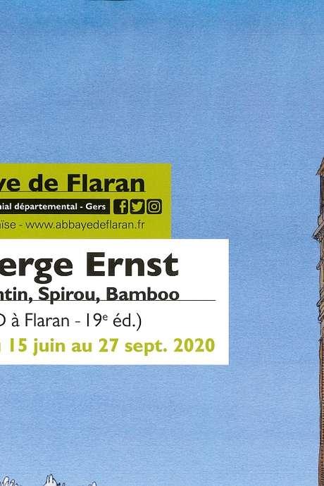 ABBAYE DE FLARAN - EXPOSITION SERGE ERNST